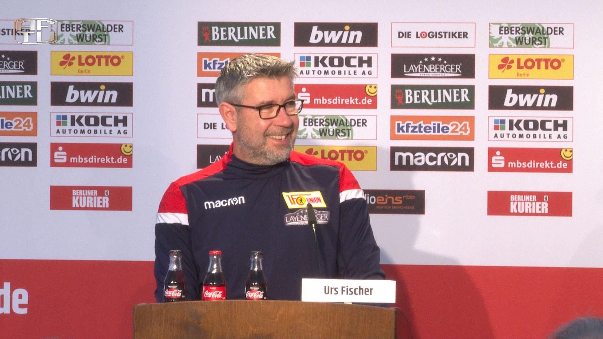 Pressekonferenz vor dem Spiel gegen den Hamburger SV